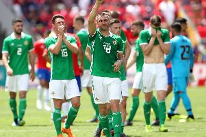 Northern Ireland's Aaron Hughes