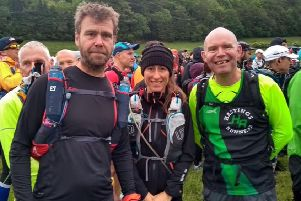 The Hastings Runners competitors in the South Downs Way 100