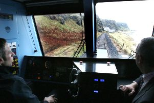 The Eglinton to Castlerock stretch of the line, which will be renewed under Phase 3.