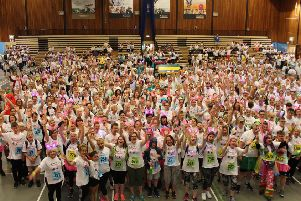 Night to Remember walkers celebrate the final fundraising total