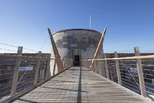 The accessibility improvements at Martello Tower in Seaford were highly commended by Sussex Heritage Trust Awards
