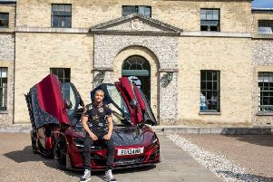 The British boxing champion is an avid car collector and owns more than �1 million of high performance cars