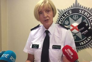 PSNI Assistant Chief Constable Barbara Gray speaking to the media about Eleventh Night disorder at PSNI headquarters in Belfast.Photo credit: David Young/PA Wire