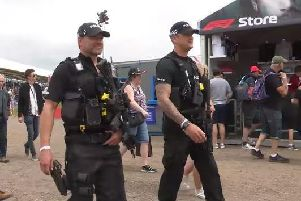 Grand Prix gives Northants Police a busy time