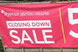 The Wyvale Garden Centre is closing