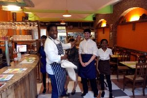 Nick and the team at Embe Soul Food and Drink on Cowgate in Peterborough