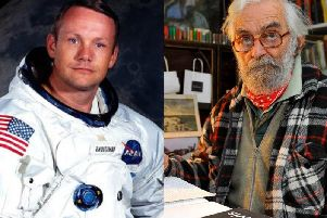 Neil Armstrong and Richard Williamson