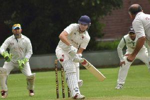 Anthony Pedlar at the crease for Park Seconds EMN-190722-181457002