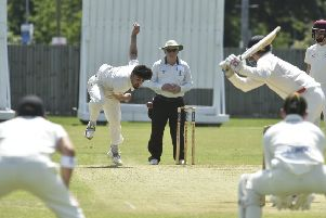 Mohammed Danyaal took two wickets for Peterborough Town at Horton House.
