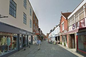 Crane Street, Chichester. Photo: Google Street View