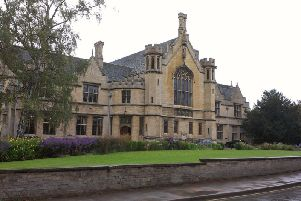 Oundle School's Great Hall.