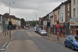 A pedestrian was knocked down and killed on Wellingborough Road last night.