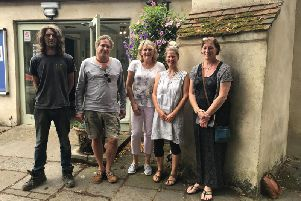 South Coast Creatives - Wez Cole, Christian Wallis, Helen Button (organiser) Claire Garcka, Tracey Lodge