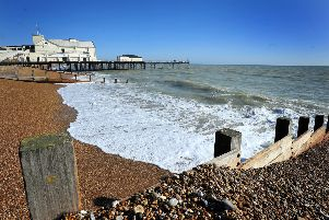 The court heard the rape took place on Bognor Regis beach. Pic Steve Robards