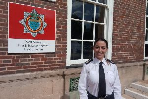 New West Sussex chief fire officer Sabrina Cohen-Hatton