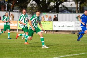 City on their way to the next round of the FA Cup with victory over Chalfont / Picture by Neil Holmes