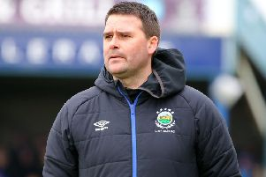Linfield boss David Healy. Pic by INPHO.