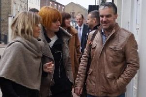 Mary Portas with MR BIG EMN-190913-150545001