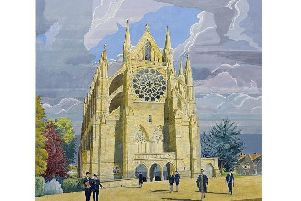 Artist Neil Holland's impression of Michael Drury's design