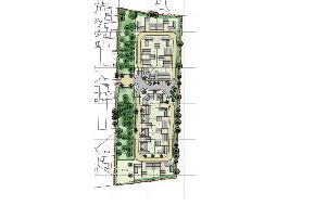 Potential layout of 34 homes east of Breach Avenue Southbourne