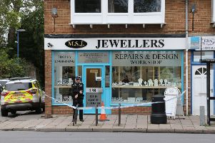 MSJ Jewellery, Selsey. Aggravated burglary investigation. 16-10-19