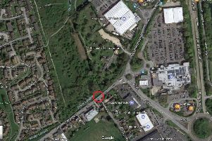 A roundabout is planned at the junction of Westhampnett Road and Church Road. Original image taken from Google Maps SUS-170724-150302001