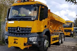 Gritters have been out and about for the county council's annual practice run. Picture: West Sussex County Council