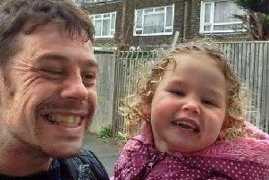 Daniel Weyman leaves behind his six-year-old daughter Ruby