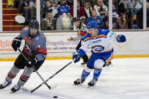 Corey McEwen (right) could be back in action for Phantoms against Hull.