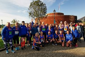 Tone Zone Runners at the Great South Run