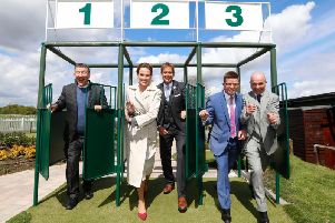 And they're off! The ITV Racing presenters