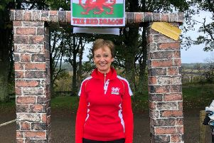 New Cowdray Park ladies' captain Jo Fife gets a Welsh welcome