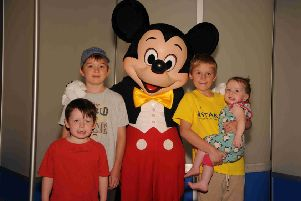 Jack Shorter with his siblings Harry, 13, Johnathan, 7, and Olivia, 4