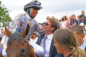 Khadihah Mellah's Magnolia Cup win helped Goodwood to national awards recognition / Picture by Malcolm Wells