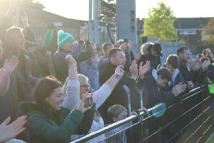 Chi City fans at Bowers and Pitsea - and there will be more of them at the second round FA Cup tie / Picture: Daniel Harker