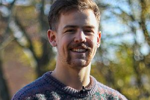 Third-year student Edward Hounsell, 23,is studying PE and Sports Coaching student, but, on the side, he is aMovember ambassador.
