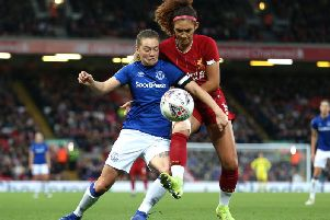 Everton's Lucy Graham
