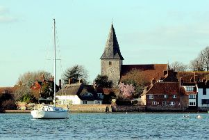 Bosham in the spring sunshine