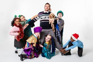 NATIVITY! Scott Garnham 'Mr Maddens'. Photo Oliver Rosser