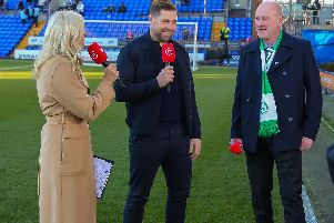Andy Bell chats to BT Sport's Lynsey Hipgrave and Grant Holt