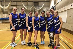One of the successful Chichester Netball Club teams