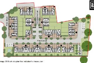 The applicant said the fresh plans would accommodate:eight, one-bedroom flats, 12two-bedroom houses, tenthree-bedroom houses and four, four-bedroom houses.Photo: Fishbourne Developments Limited