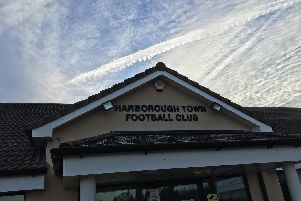 The first phase of work has now been completed at the Harborough Town Community Ground