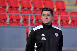 Declan Devine wants to restore pride in the Derry City jersey this season.