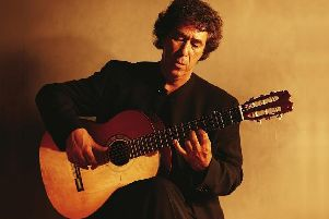Juan Martin in Concert at The Capitol, Horsham, on  Sunday, March 10