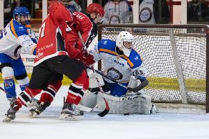 Jordan Marr makes another great save.