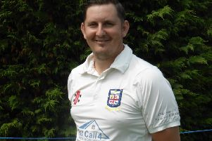 Johnathan Haffenden top-scored for Bexhill in their victory at home to Hastings Priory seconds