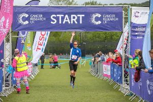 Cancer Research UK's Race for Life, at Stormont Estate