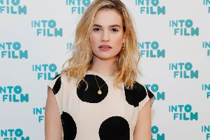 Lily James attends the Into Film Awards at Odeon Luxe Leicester Square