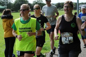 Photos from this year's Buckingham Half Marathon